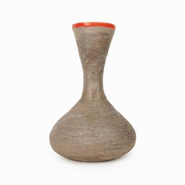 Mid Century Ceramic Vase Italian Style Fine Art Ceramics by VintageInquisitor
