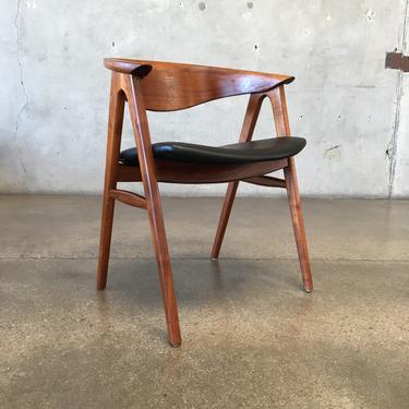 Vintage Dux Compass Chair by Erik Kirkeguard