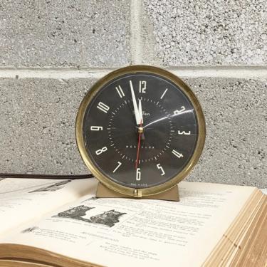 Vintage Clock Retro 1960s Big Ben + Westclox + Mid Century Modern + Wind-Up + Alarm + Desk Clock + MCM + Time + Home and Table Decor by RetrospectVintage215