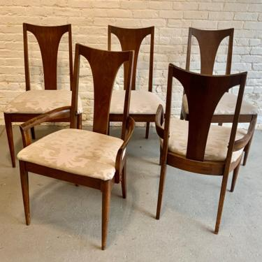 Mid Century MODERN BROYHILL Sculptra DINING Chairs, Set of 5 by CIRCA60