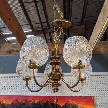 Vintage Progress Lighting Chandelier
