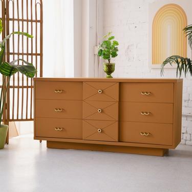 Almond 9-Drawer Sweetheart Dresser by Kent Coffey