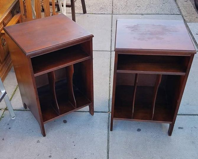 Stash your LPs here! Record Cabinets, $57 each.