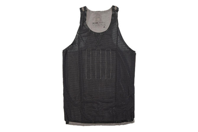 Day One Mesh Singlet (Black/Light Brown)