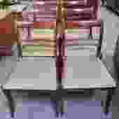S94 Set of Six Mahogany Dining Chairs