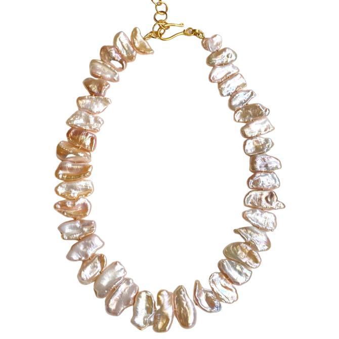 Blush Keshi Pearl Necklace