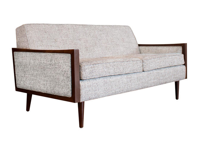 Mid Century Modern Sofa Casara Modern Tyler Love Seat Sofa NEW 2019 Lifestyle Fabric Stain Repellent Kid and Pet Friendly by CasaraModernShop