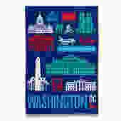 Modern DC Tea Towel