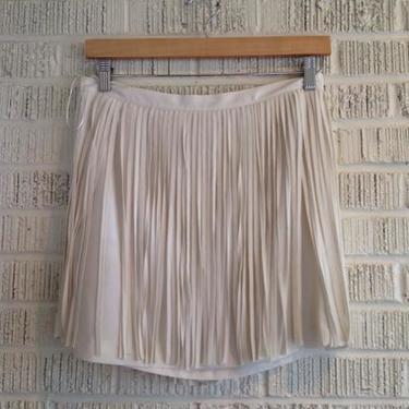 Zara Size M Cream Skirt