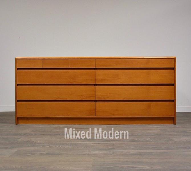 Teak Danish Modern Dresser by mixedmodern1