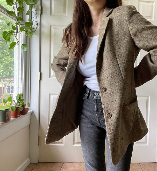 Vintage Wool Blazer by VeniViriVintage