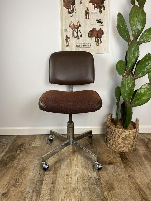 Mid Century Mart Office Products Desk Chair by DesertCactusVintage