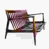 Ib Kofod-Larsen Love Seat Sofa for Selig