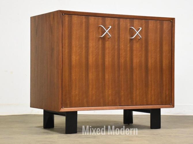 George Nelson for Herman Miller Walnut Cabinet by mixedmodern1