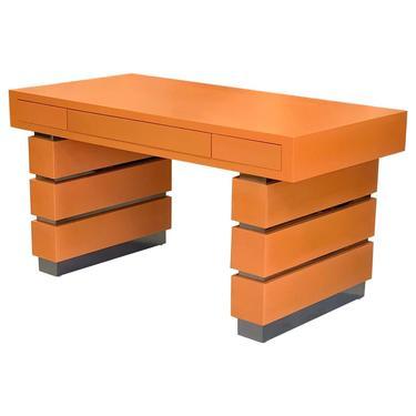 Bridges over Time Originals Custom Orange Desk