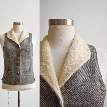 Antique Wool Tweed Vest by milkandice
