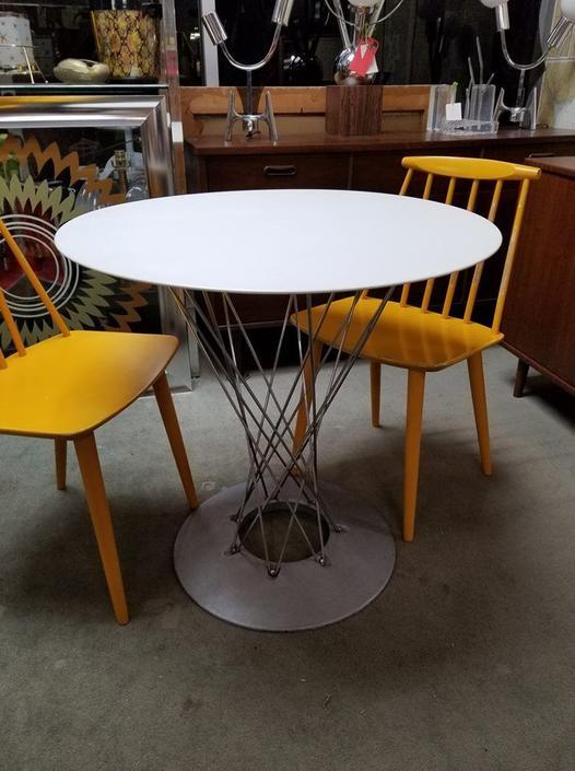Vintage cyclone bistro table