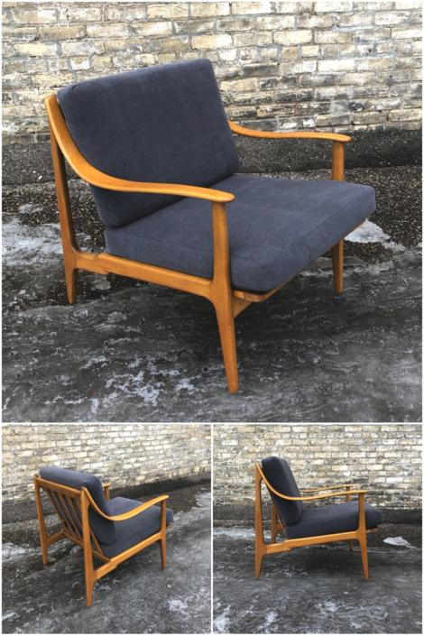 Danish Made Lounge Chair