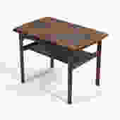 Rasmus Solberg  Two-Tiered Rosewood Side Table