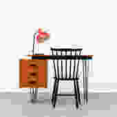 Cees Braakman for Pastoe Desk with Hairpin Legs