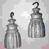 Pair of Cast Iron Tassles