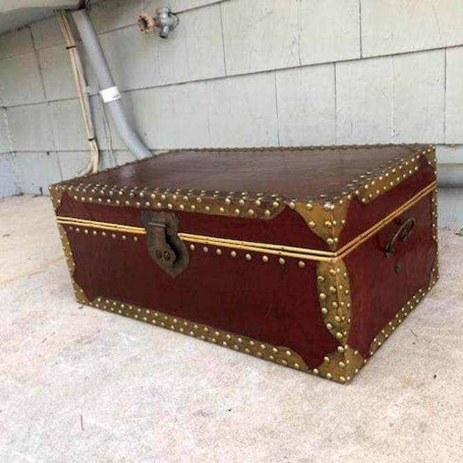 Vintage Trunk or Foot Locker