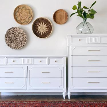 AVAILABLE -White Dresser Set by JulieSimpleRedesign