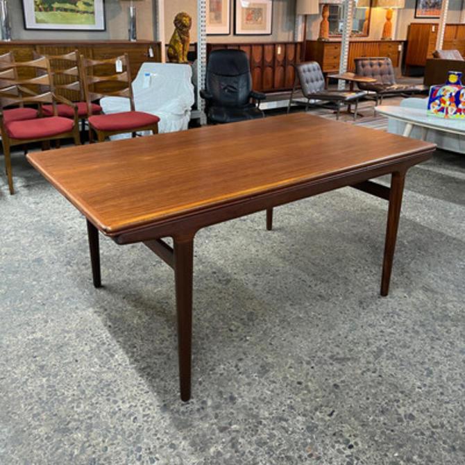 Johannes Andersen Teak Extension Dining Table