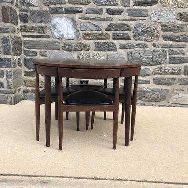Hans Olsen for Frem Rojle Table/Chairs