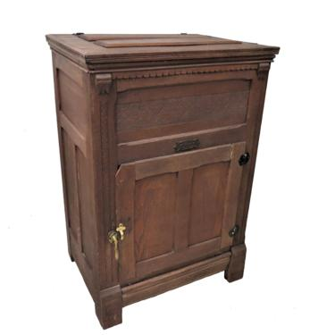 Antique Beldings New Perfection Ice Box by PickeryPlace