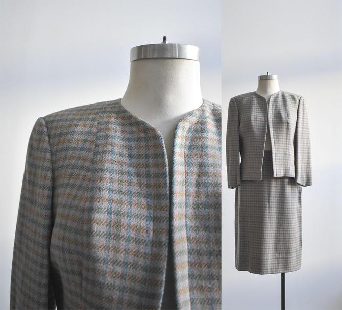 Vintage 2pc Tweed Suit Set by milkandice