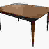 Mid-Century Modern Walnut Dining Table by Marykaysfurniture
