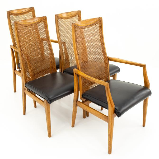Drexel Mid Century Dining Chairs - Set of 4 - mcm by ModernHill