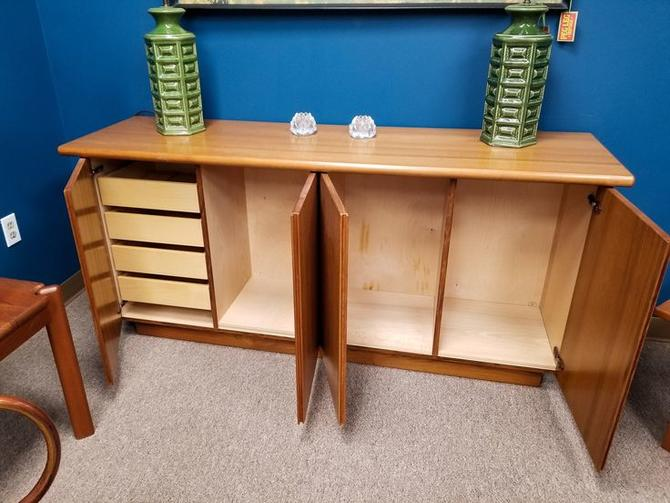 Danish Modern teak credenza with tons of storage