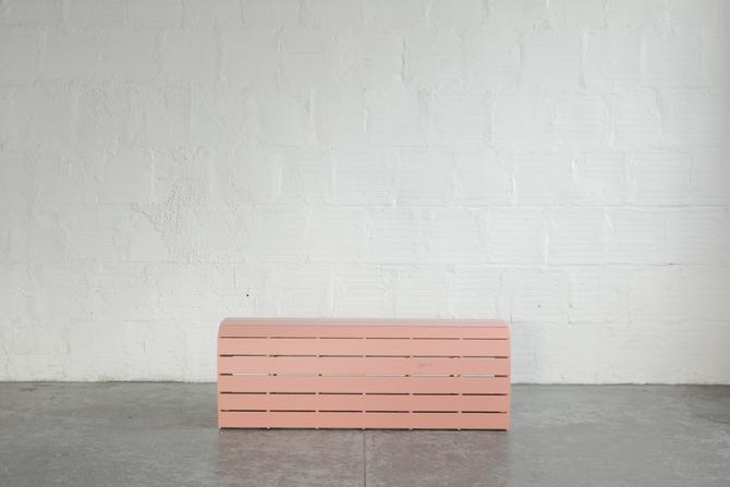 TGM Slatted Bench