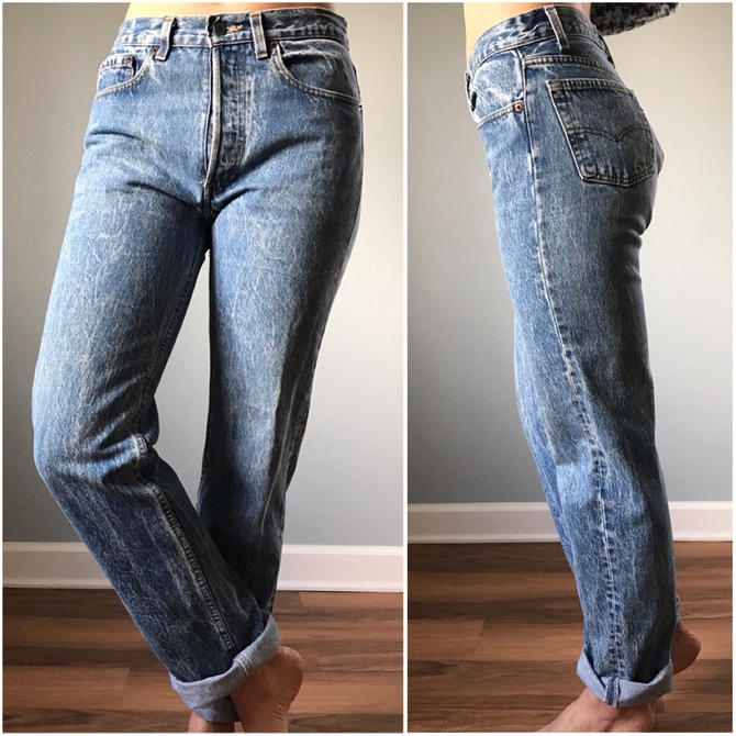 Vintage 80s Levis 501 Acid Wash by SpeakVintageDC