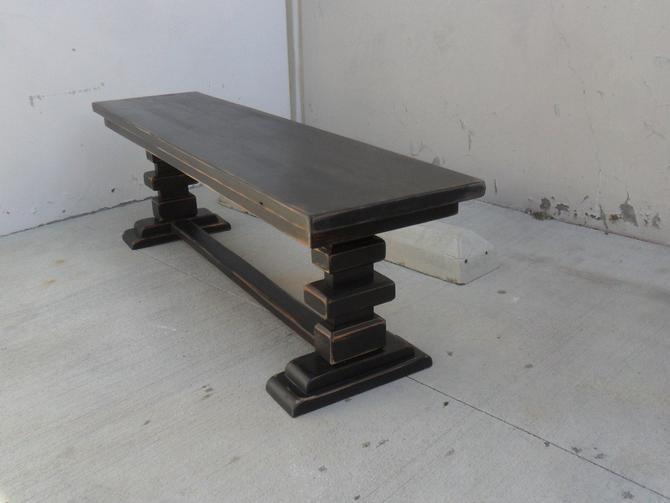 Bench, Table, Reclaimed Wood, Rustic, Handmade by VintageMillWerks