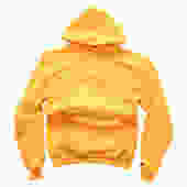 John Geiger Embroidery Hoodie - Yellow