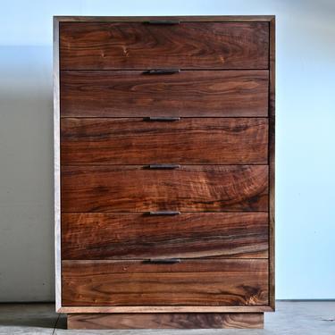 Modern Walnut Dresser by BeautyBreadWoodshop