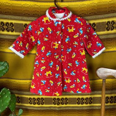 Vintage Doctor Dolittle Toddler Robe Size 4T by DesertCactusVintage