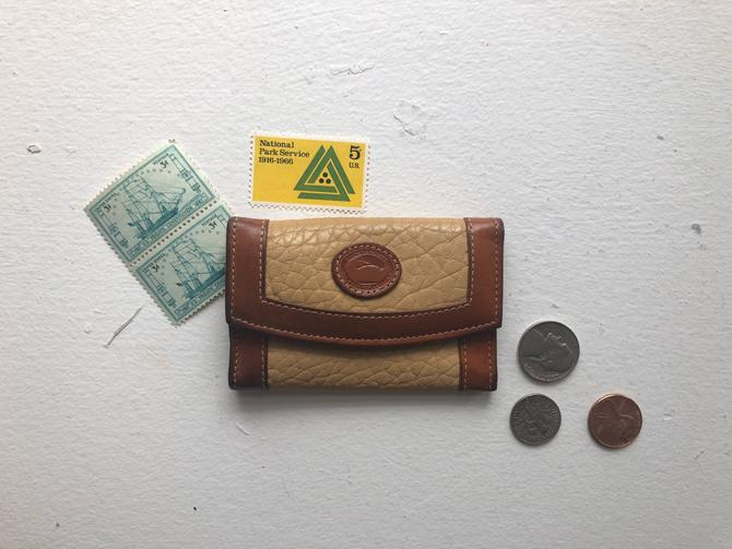 Vintage Dooney and Bourke Key Case Organizer Wallet by BlackcurrantPreserve