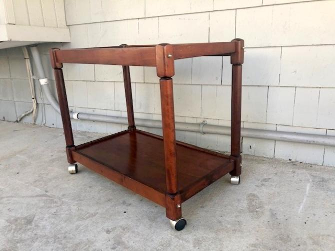 Midcentury Two Tiered Bar Cart/Server/Trolley