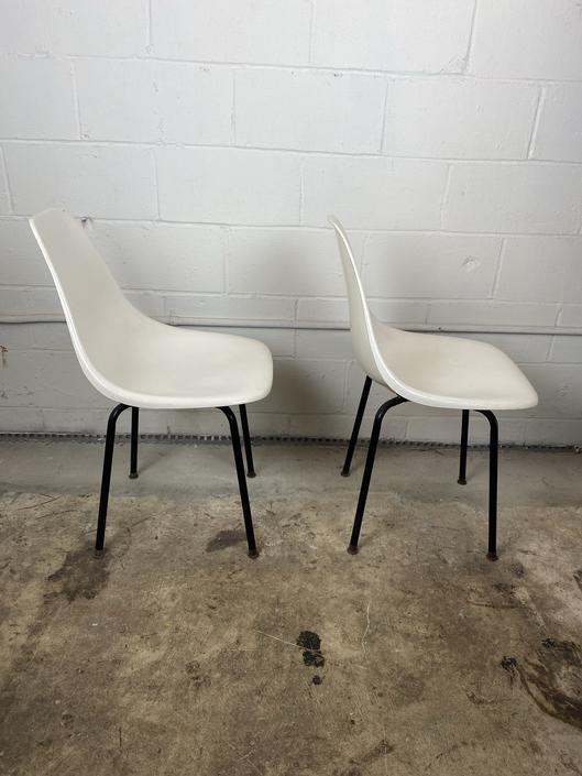 Pair of Mid Century Shell chairs