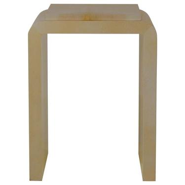 Chic Narrow Parchemin Side Table