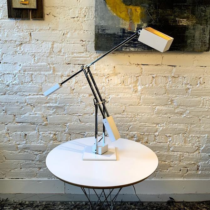 Mid-century Robert Sonneman Articulated Task Lamp, 1970's