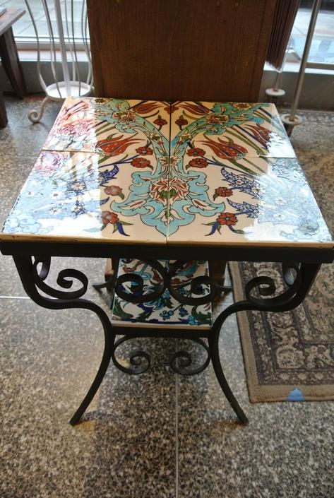 Tiled table. $195