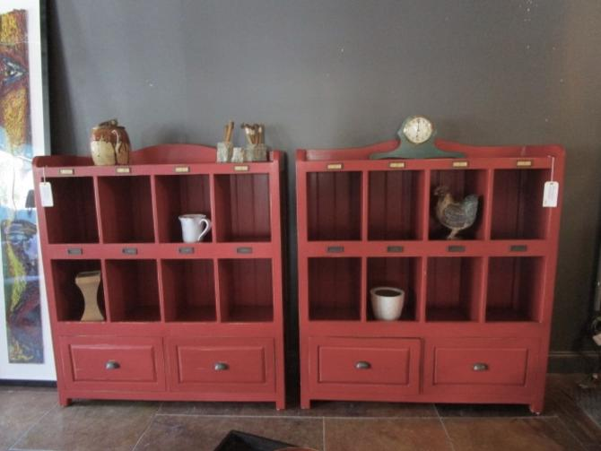 PAIR OF LARGE  STORAGE CABINETS PRICED SEPARATELY