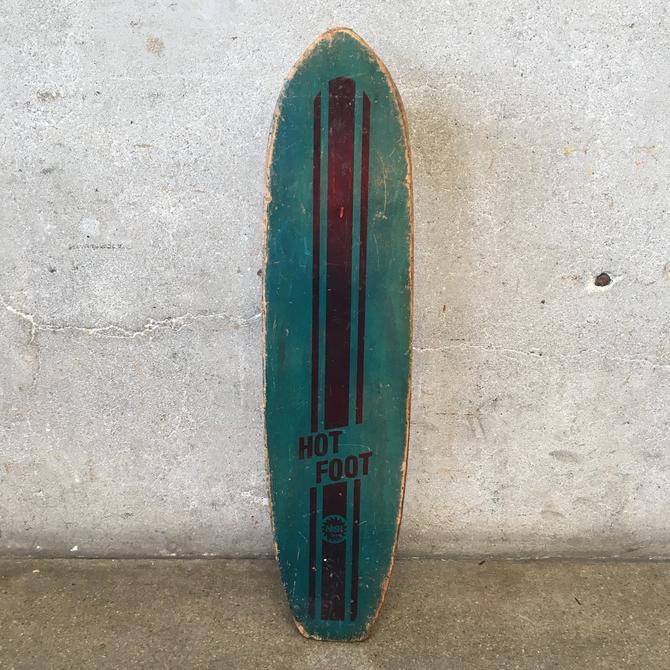 Vintage Hot Foot Skateboard by Nash