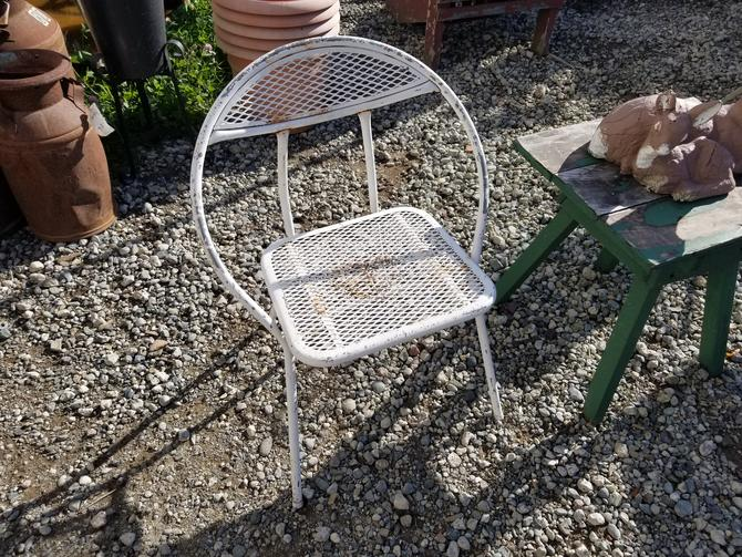 Super Cute Fold Up Metal Chair