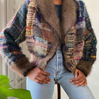 90s Nancy Paap Handwoven Jacket